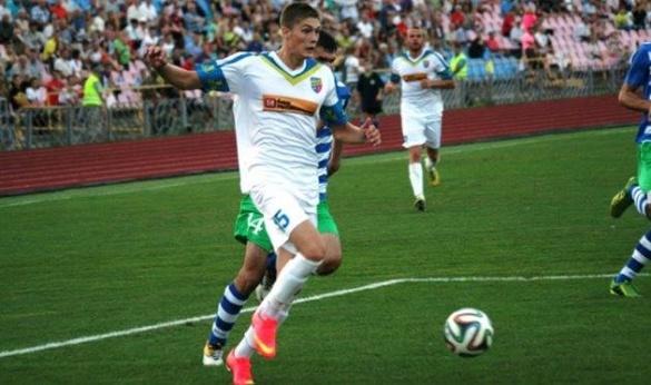 Черкаський футболіст отримав виклик до національної збірної України