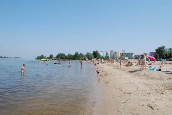 Територію черкаського пляжу