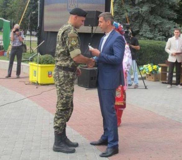 Уманчанин отримав державну нагороду від Президента України