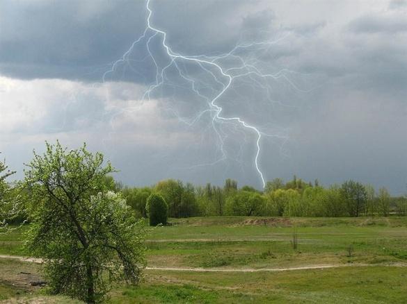 Черкащан попереджають про грози, пориви вітру та шквали