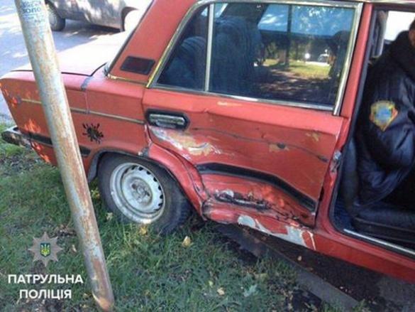 У Черкасах через горе-водія сталася ДТП (ФОТО)