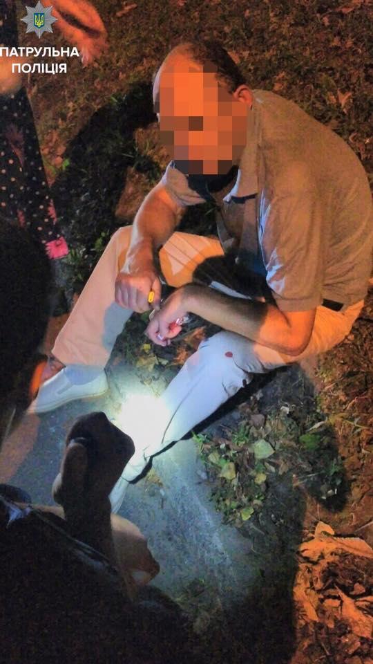 У Черкасах патрульні врятували п'яного чоловіка