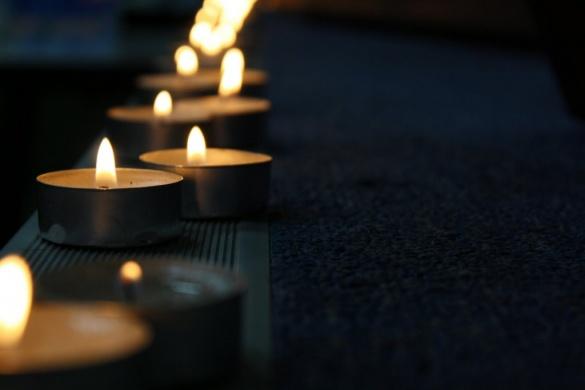 Хвилиною мовчання у Черкасах вшанували пам'ять загиблого військового