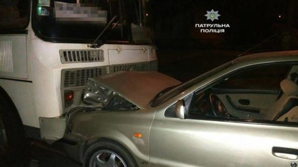 У Черкасах водій напідпитку спричинив ДТП
