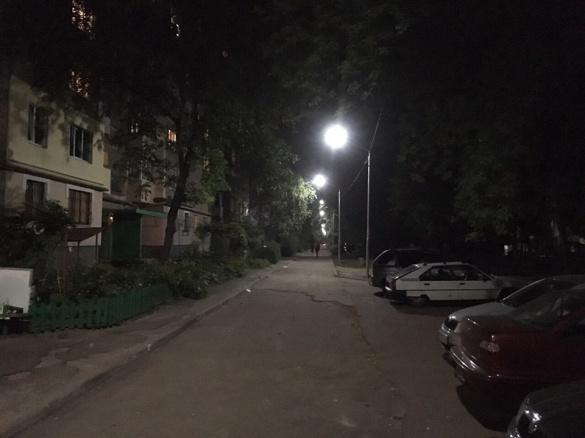 У Південно-Західному районі Черкас зробили освітлення (ФОТО)
