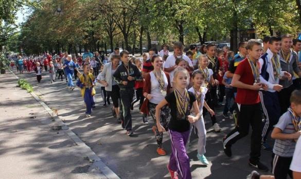 Черкащани влаштують масштабний забіг вулицями міста
