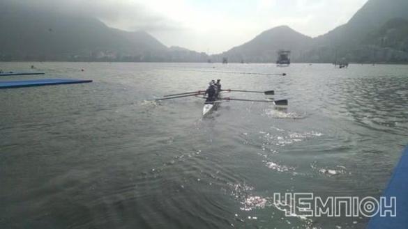 Черкаські веслувальники позмагаються за перемогу у півфіналі в Ріо