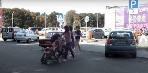 Черкаська вихованість, або навпростець через дорогу (ВІДЕО)