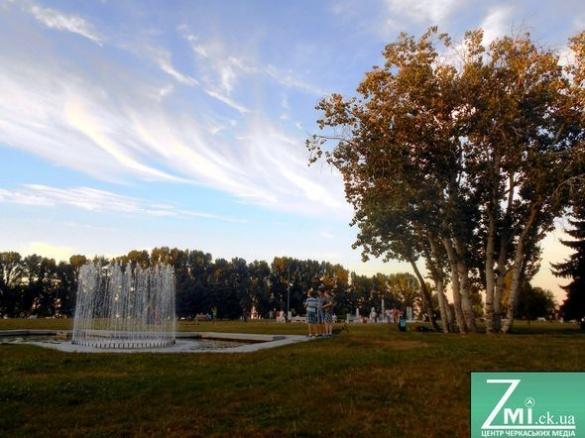 На День міста в Черкасах презентують ексклюзивне шоу біля фонтану