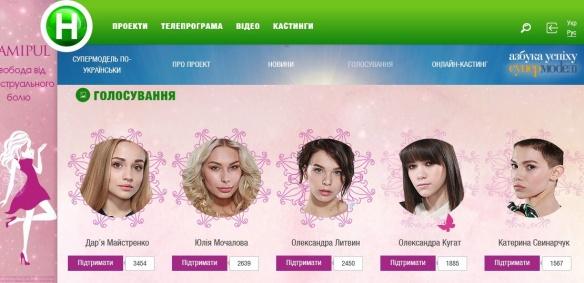Черкащанка лідирує у голосуванні всеукраїнського шоу