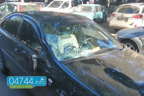 На Черкащині автомобіль насмерть збив жінку (ФОТО)