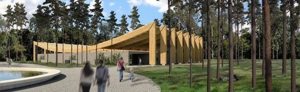 Став відомий переможний проект з реконструкції літнього кінотеатру в парку Сосновий бір