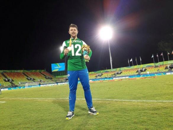 Черкаський футболіст на Паралімпіаді став володарем золотої медалі