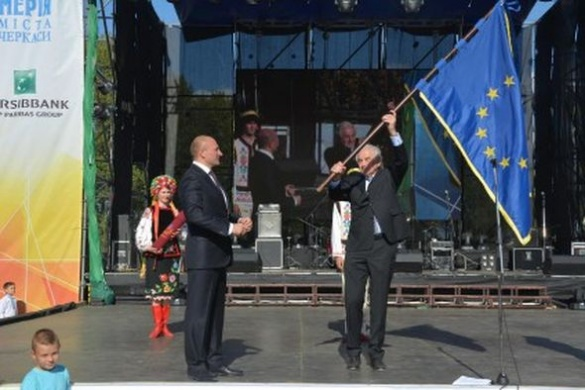 У День міста Черкасам подарували європейську нагороду
