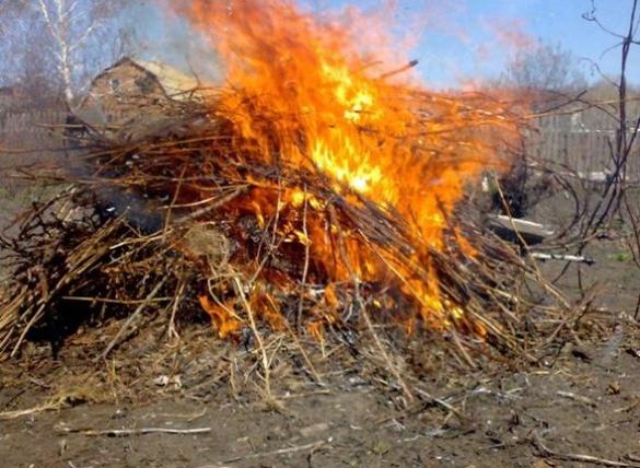 Черкащан, які спалюють сміття, будуть карати патрульні