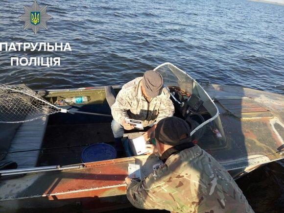 Водна поліція спіймала в Черкаській області чергового браконьєра (ФОТО)