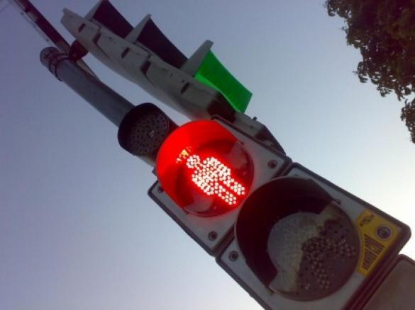 Світлофор на Одеській у Черкасах поки що не будуть встановлювати