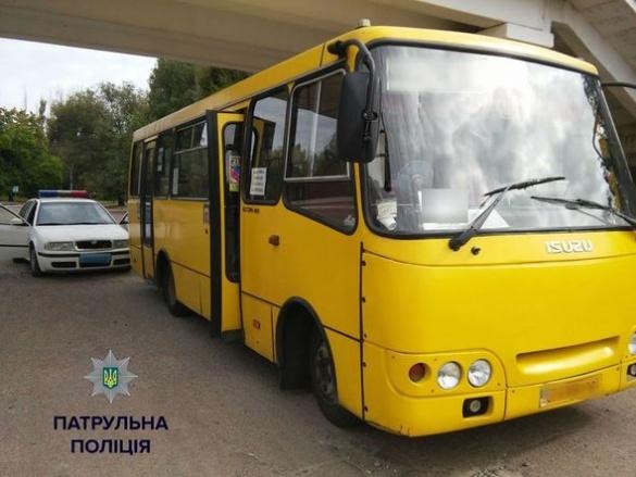 Водій черкаської маршрутки збив жінку та зник із місця ДТП