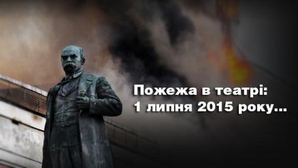 Черкаський театр: рік після пожежі у