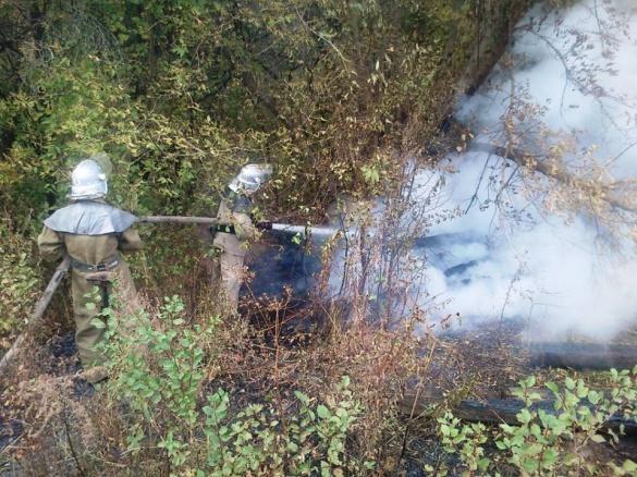 Через необережне поводження з вогнем на Черкащині виникло дві пожежі