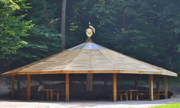 Альтанки серед лісу: лісівники облаштували місця для відпочинку у Холодному Яру