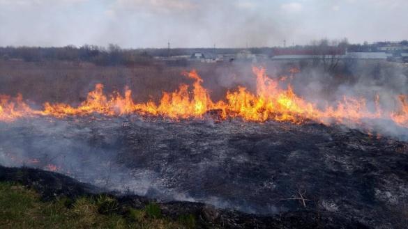 Протягом тижня на Черкащині утримається надзвичайна пожежна небезпека