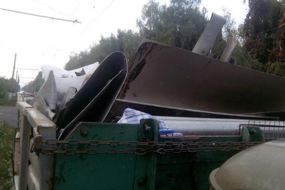 Черкаські полісмени затримали нелегального перевізника кольорового металу