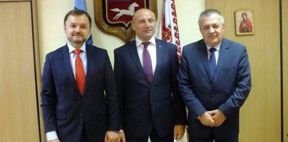 Мер Черкас прийняв послів з Болгарії та Молдови (ВІДЕО)