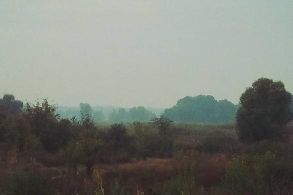 Жителі Золотоноші потерпають від смогу невідомого походження