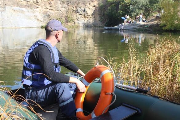 В Умані рятувальники витягали з води двох хасидів