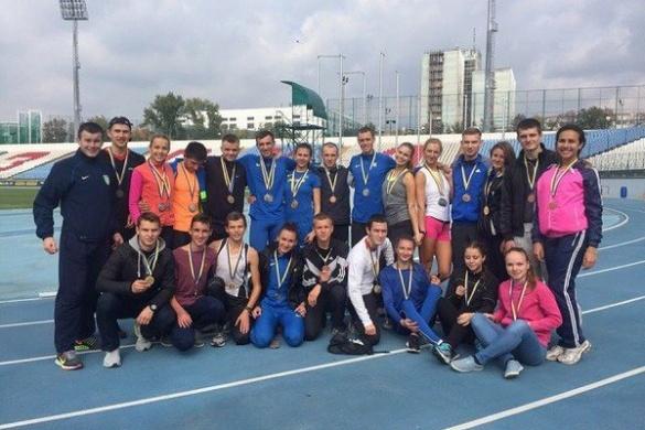 Черкащани здобули першість на чемпіонаті України з легкої атлетики (ФОТО)