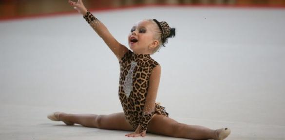 У Черкасах змагалися чотирирічні гімнасти з усієї України