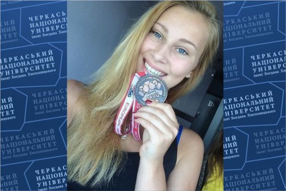 Черкаська студентка стала однієї з кращих боксерок Європи