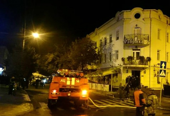 В уманському ресторані сталася пожежа (ФОТО)