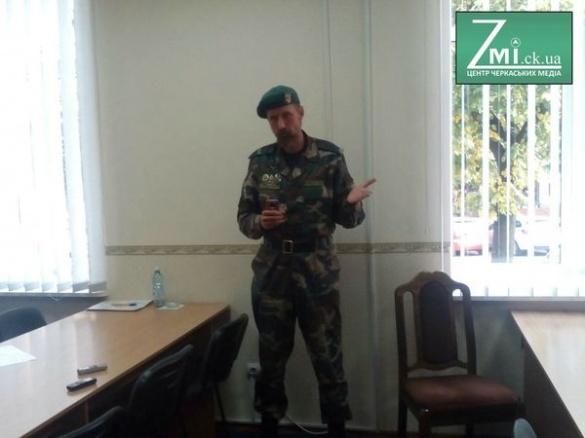 Людина без паспорта погрожувала охороні Черкаської ОДА