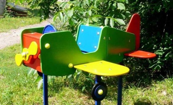 У двох дитячих садках у Черкасах встановлять унікальне ігрове обладнання