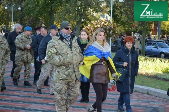 У Черкасах згадали про захисників України (ФОТО)