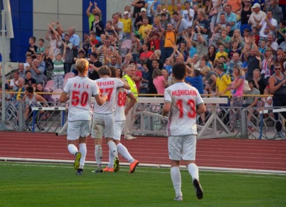 Черкаські футболісти мінімально перемогли