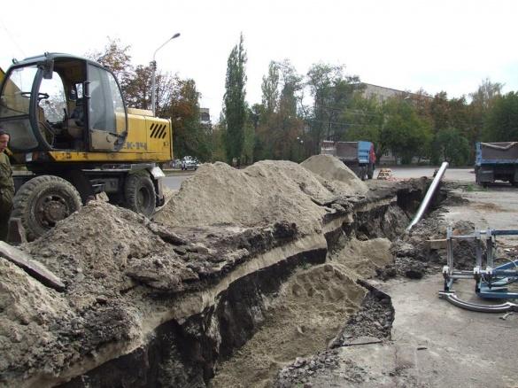 На реконструкції водопроводу