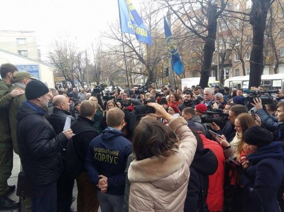 Активісти не побачили документи про призначення Лютого та прямують до губернатора