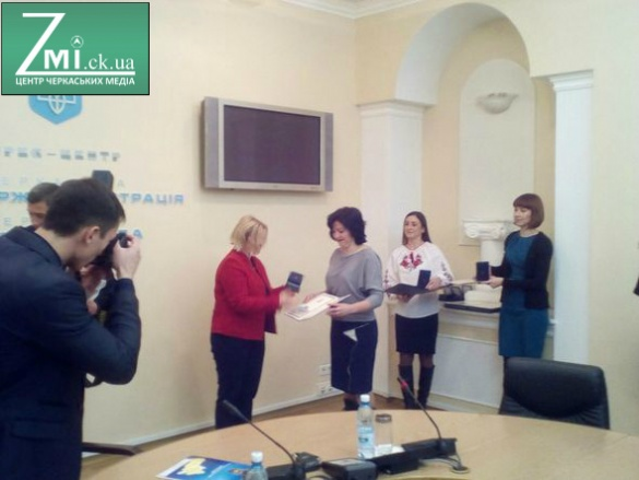 Ірина Геращенко у Черкасах відзначила кращих вчителів (ФОТО)