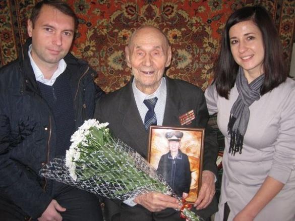 Житель Черкас відзначив 100-річний ювілей (ФОТО)