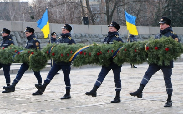 Містяни вшанували пам'ять визволителів Черкас (ФОТО)