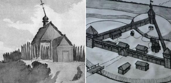 Скільки всього замків-фортець існувало в Черкасах і який вигляд вони мали?