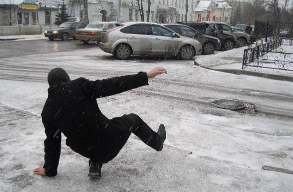 Зимовий ефект: черкащани із забоями та переломами не рідкі