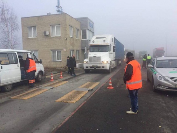 На Черкащині водія вантажівки оштрафували на тисячу євро