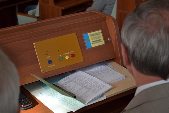 Депутати Черкаської облради розійшлися, так і не розглянувши питання про блокаду