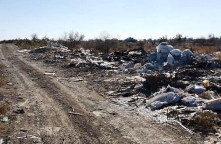 У Червоній Слободі горіло сміттєзвалище