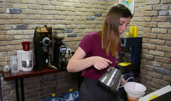 Почати все з нуля. У Черкасах переселенка із Донбасу відкрила власну кав'ярню