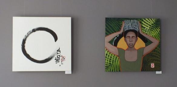 Коло життя: художниця показала у Черкасах частинку Таїланду (ВІДЕО)